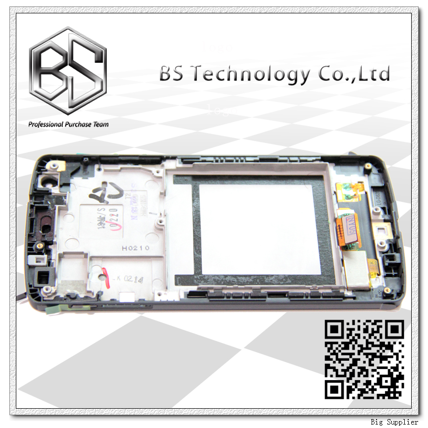 5pcs/lot 100% Original New Display Screen LCD Assembly with Frame For LG Nexus 5 D820 D821 LCD Black 5pcs lot tda8954th tda8954 new original