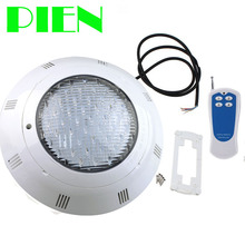 цена на Underwater light 12V LED Swimming Pool lights IP68 RGB Flush mount Fountain lamp With Remote 18W 36W D298mm Free ship
