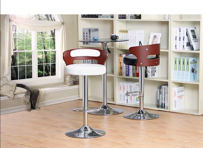 Pizza shop Western restaurant lift stool retail wholesale South Africa popular bar chair white black free shipping