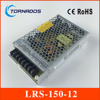 LRS 150 12 ac dc single output 150w 12v slim type led driver power supply dc source with metal enclosed