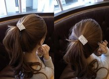 New Arrival Rhinestone Hair Accessaries Gold Plated Crystal Hairband Fashion Korean Jewelry SF072