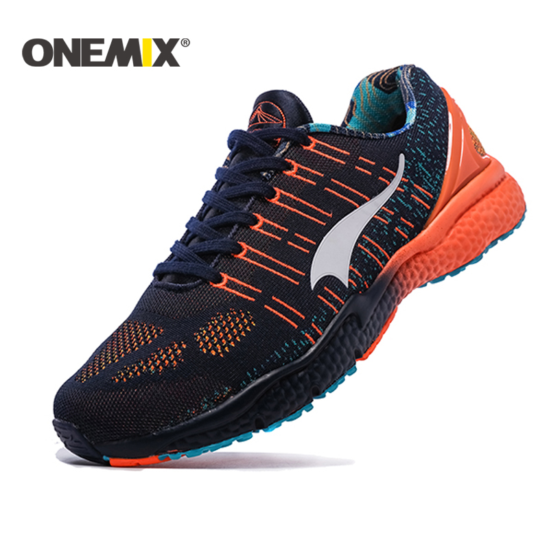 ONEMIX Men Athletic running Shoes Light Men Sneakers Breathable Males Sport Sneakers New Outdoor Walking Shoes Plus Size 39-45 2018 new running shoes for men breathable zapatillas hombre outdoor sport sneakers lightweigh walking shoes size 39 45 sneakers