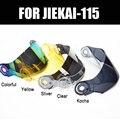 2018 новый стиль цветные гоночные шлемы с откидным козырьком для мотоцикла  цветной серебристый желтый прозрачный серебристый KOCHA для шлема ...