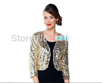 Special Occasion Sequin Jackets Women
