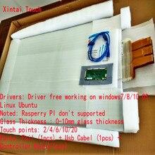 Лучшая цена 42 дюймов сенсорный Фольга пленки, высокое качество нано Мультисенсорная пленка через ЖК-дисплей или проектору (стенд с товаром)