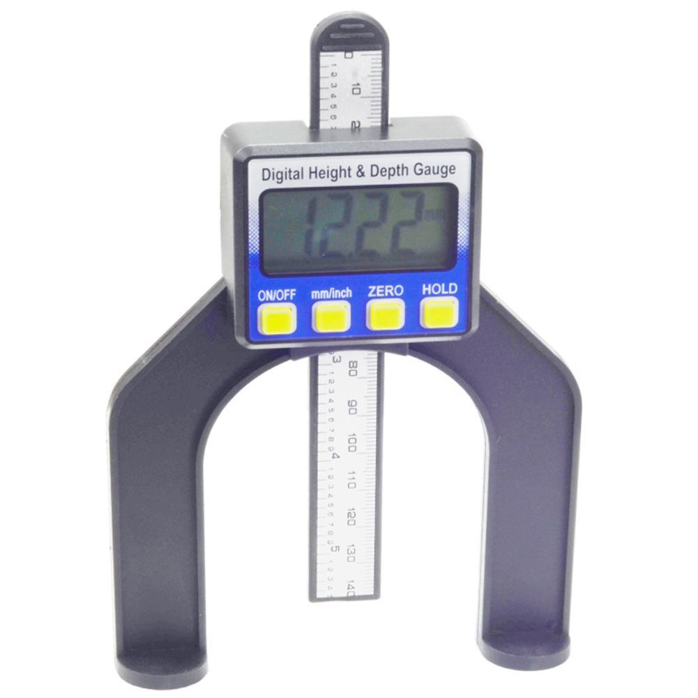 0 80mm Digital Display Height Depth Gauge Vernier Caliper Woodwork Measure Tool in Tool Parts from Tools