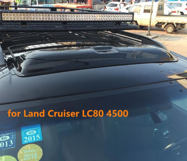 Teto Solar escudos defletores de chuva tempo gruard shdows Acrílico de alta qualidade para Toyota Land Cruiser FJ80 LC80 4500