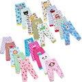 Nueva Llegada 2016 Niños Bebés Niñas bebés 5 unids/lote Animales bordados Pantalones Del Bebé 100% Pantalones de Algodón Bebé Productos Para Bebés V30