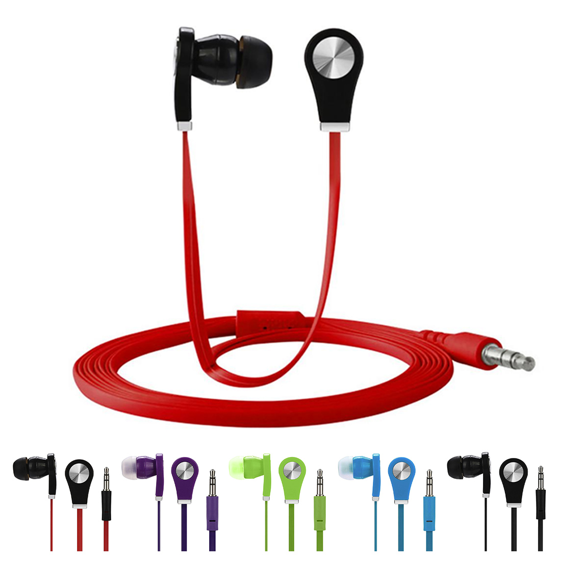 Cheap Earphone In-ear Earphone Colorful Headset Hifi Earbuds Bass Earphones High Quality Ear Phones For Phone image