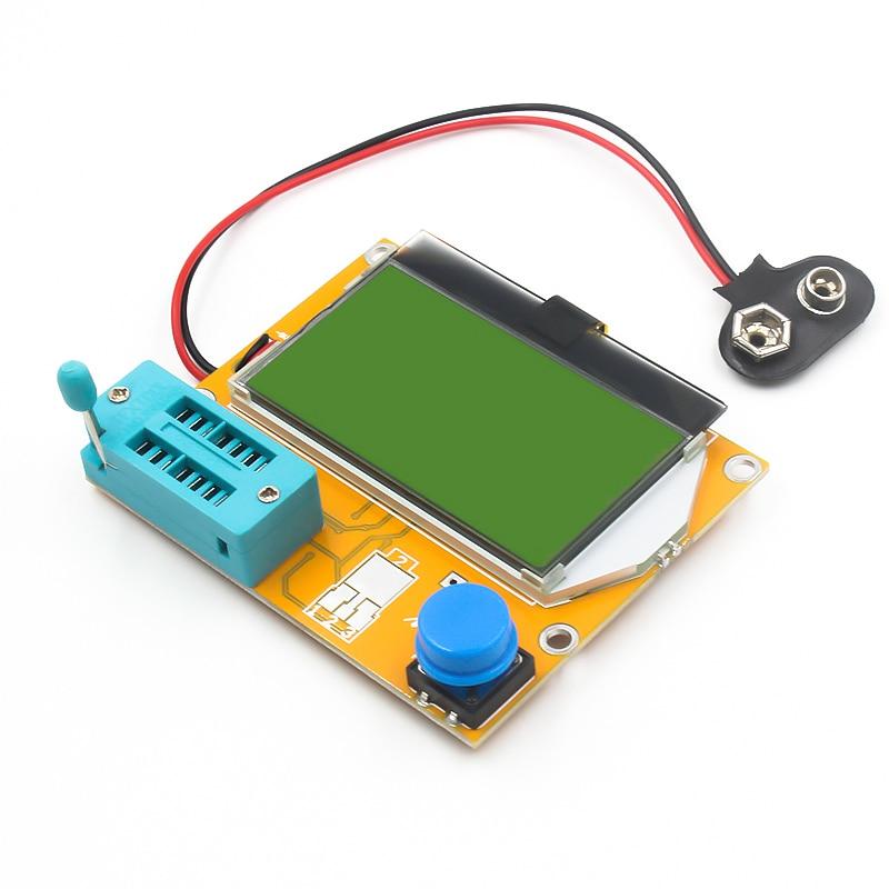 2016 V2 68 ESR T4 Mega328 Digital Transistor Tester Diode Triode Capacitance ESR Meter MOS PNP 2016 V2.68 ESR-T4 Mega328 Digital Transistor Tester Diode Triode Capacitance ESR Meter MOS/PNP/NPN LCR 12864 LCD screen
