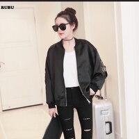 Womens Autumn winter Long Sleeve Women Jacket casual zippers Color black outwear Oversized Coat Plus XL SIZE