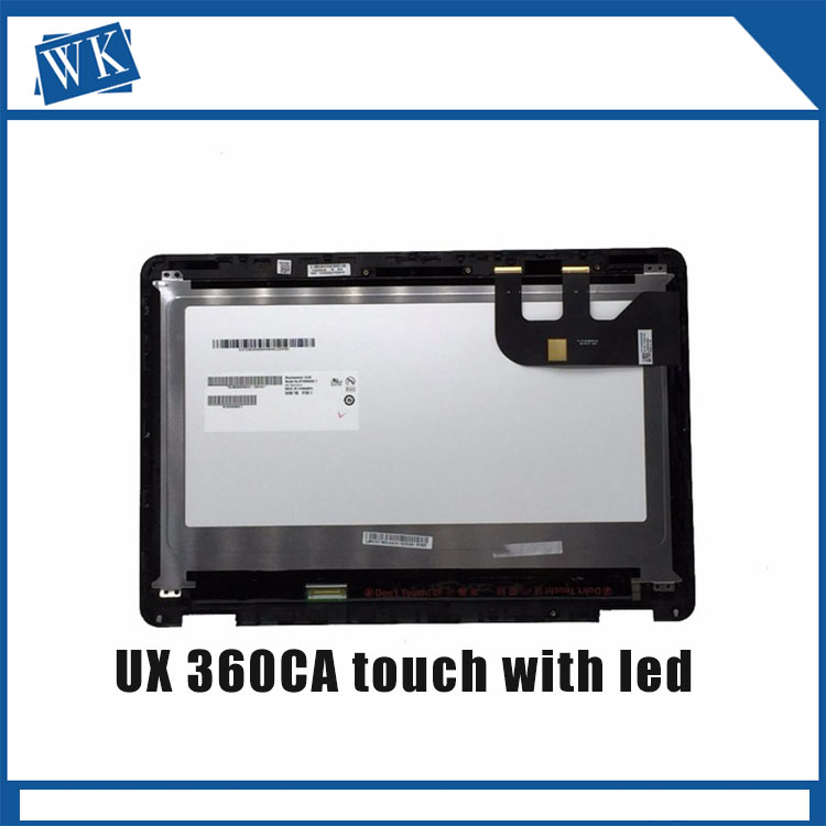 13.3inch LCD Display Screen for ASUS ZENBOOK UX360CA UX360C LCD Screen+Touch Digitizer Assembly B133HAN02.7 and only touch 13 3 lcd screen display panel matrix replacement for asus zenbook ux360c ux360u ux360ca 1920x1080 edp 30 pin ips fhd non touch page 8