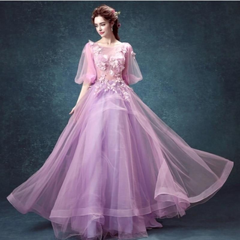 Chiffon Ball Gown