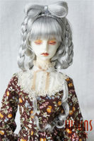 JD271 1/3 SD synthetic mohair doll wigs 8 9inch Dunhuang flying fairy hairstyle