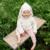 Nuevo llegan los niños del bebé de Conejo suéter con capucha suéter infantil del niño sudadera con capucha 100% algodón