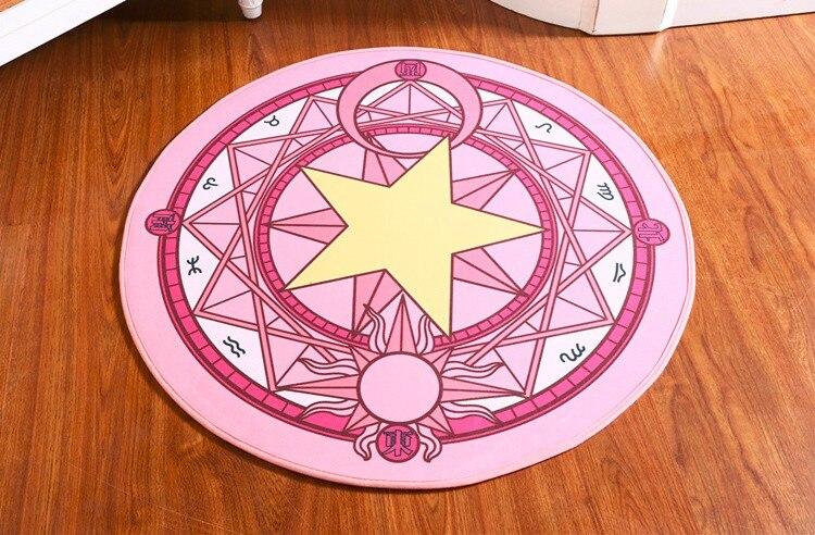 Cardcaptor Sakura Magic Circle Carpet Floor Mat The