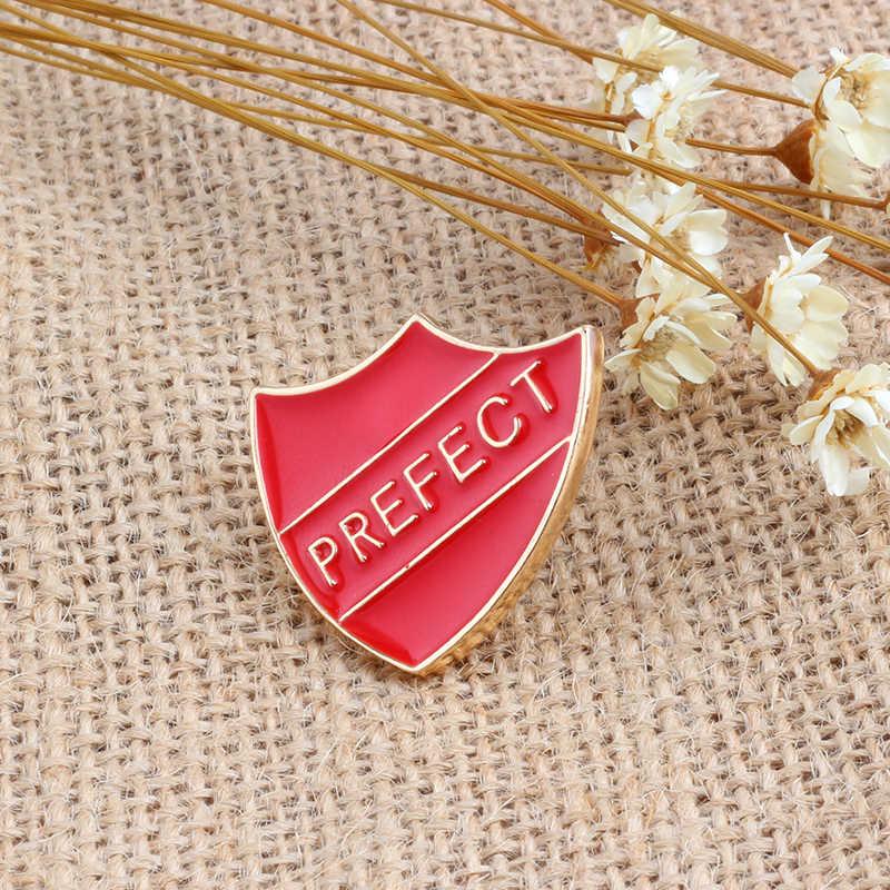 4 Warna Pilihan Yang Sempurna Huruf Bros Enamel Pin untuk Wanita Topi Ransel Kemeja Pin Logam Tombol Lencana Fashion Perhiasan Hadiah PAR