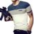 2016 recién llegado de marca-clothing camisetas de rayas de los hombres de moda de verano de manga corta camiseta de los hombres del o-cuello de los hombres t-shirt tamaño m-5xl