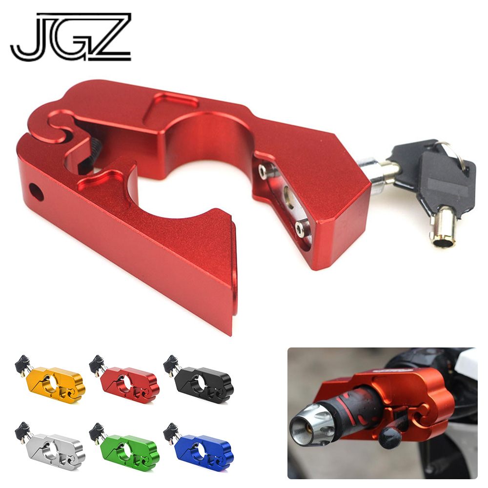 Motorcycle CNC Handlebar Lock Handle Theft Protection Brake Lever Locks For Honda Africa Twin CRF1000L NC750 CBR650F Accessories