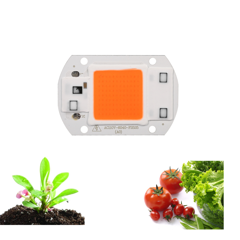 DIY Spektrum Penuh 30 W SMD LED Tumbuh Chip Hydroponice Tanaman Tumbuh Chip untuk Pembibitan Tanaman Indoor Tumbuh