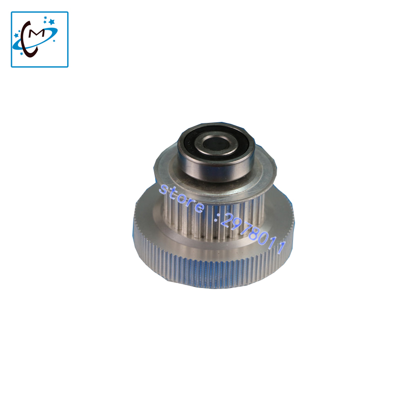 Wit color inkjet printer motor gear wit color 2000 3000 piezo printer tower pulley Xaar 382 printhead  driving pulley part multifunctional professional handle pulley roller gear outdoor rock climbing tyrolean traverse crossing weight carriage fit