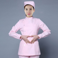 2017 OEM nurse uniform medical nursing uniforms nursing scrubs medicalBeauty outfit plus size