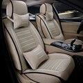 Alta calidad Universal del asiento de coche de lino cubre para Skoda Octavia RS Fabia Superb Rápido Spaceback Joyste accesorios car styling