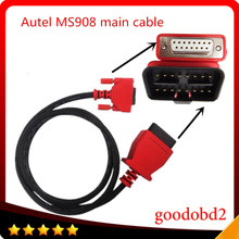 For Autel Maxisys 908 pro Main Cable MS908 pro OBD2 16pin to 15pin connector main tester
