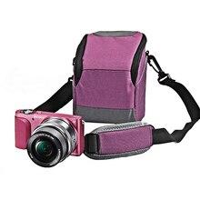 Appareil photo numérique Portable sac avec bandoulière et housse de pluie pour Sony Nikon J1 J2 Canon Panasonic GF5 GX1