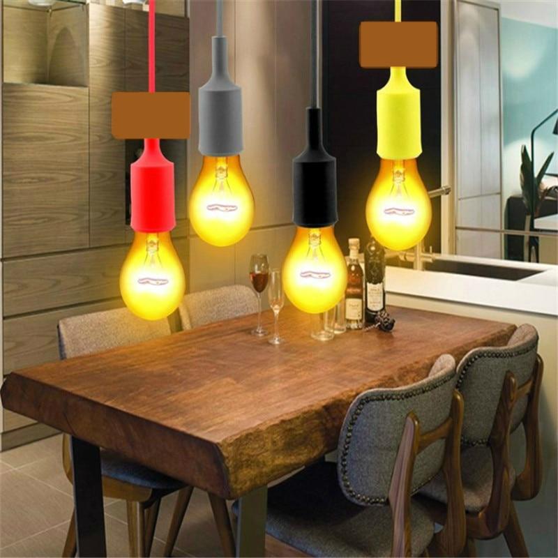 Bases da Lâmpada lâmpada de luz pingente de Características : Portable