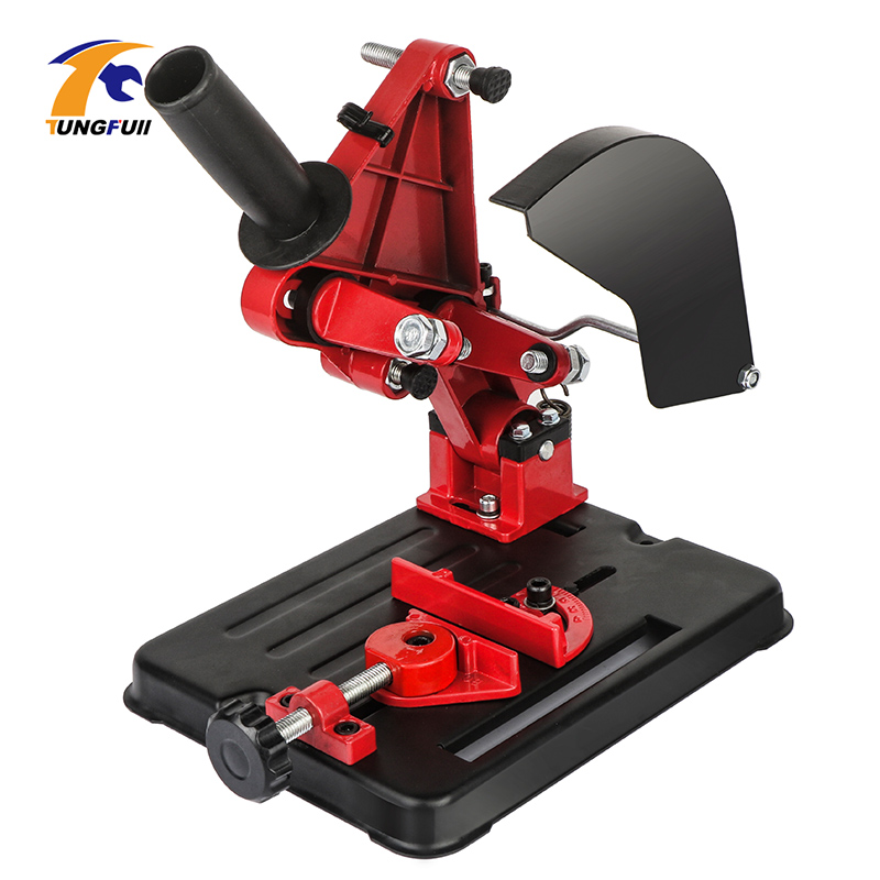 Universal Function Angle Grinder Stand Angle Grinder Bracket Holder Support For 100-125 Angle Grinder Power Drill Accessories