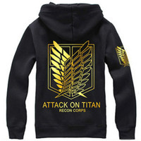 Attack On Titan Hoodie Jacket Shingeki No Kyojin Winter Coat Cosplay Eren Levi Hoodie Sweatshirt Men
