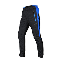 Keep Warm Men Cycling Tights Breathable Pants Male Cycling Fleece Thermal Pants Pants Cycling For Outdoor