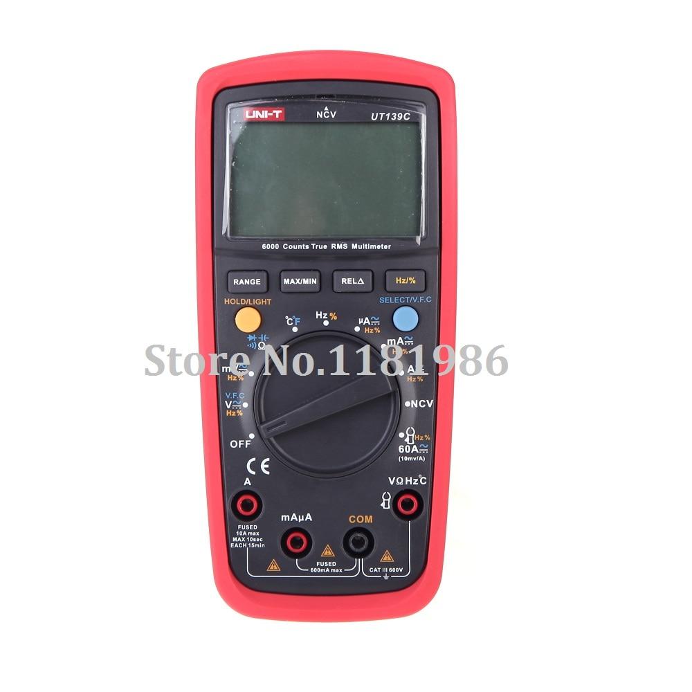 LCD Display UNI-T UT139C True RMS Electrical Digital Multimeters LCR Meter Handheld Tester Multimetro Ammeter Multitester  цены