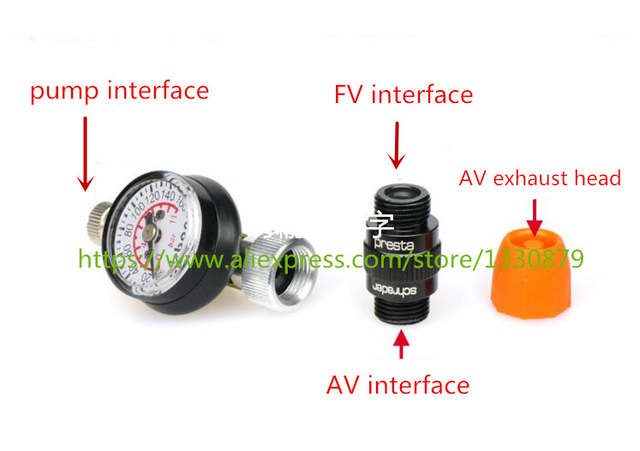 Online Shop Taiwan Bicycle Tire Pressure Meter Tire Pressure Gauge