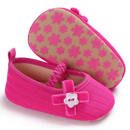 Emmababy รองเท้าเด็กวัยหัดเดินรองเท้าเด็กทารกแรกเกิด Soft Soled Princess รองเท้า Prewalker 0-18M