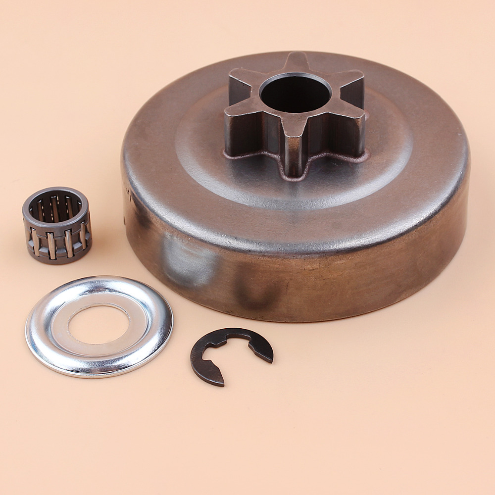 3/8 6T CLUTCH DRUM Washer E-Clip FIT ST 017 018 021 023 025 MS170 MS180 MS210 MS230 MS250 Chainsaw 1123 640 2003