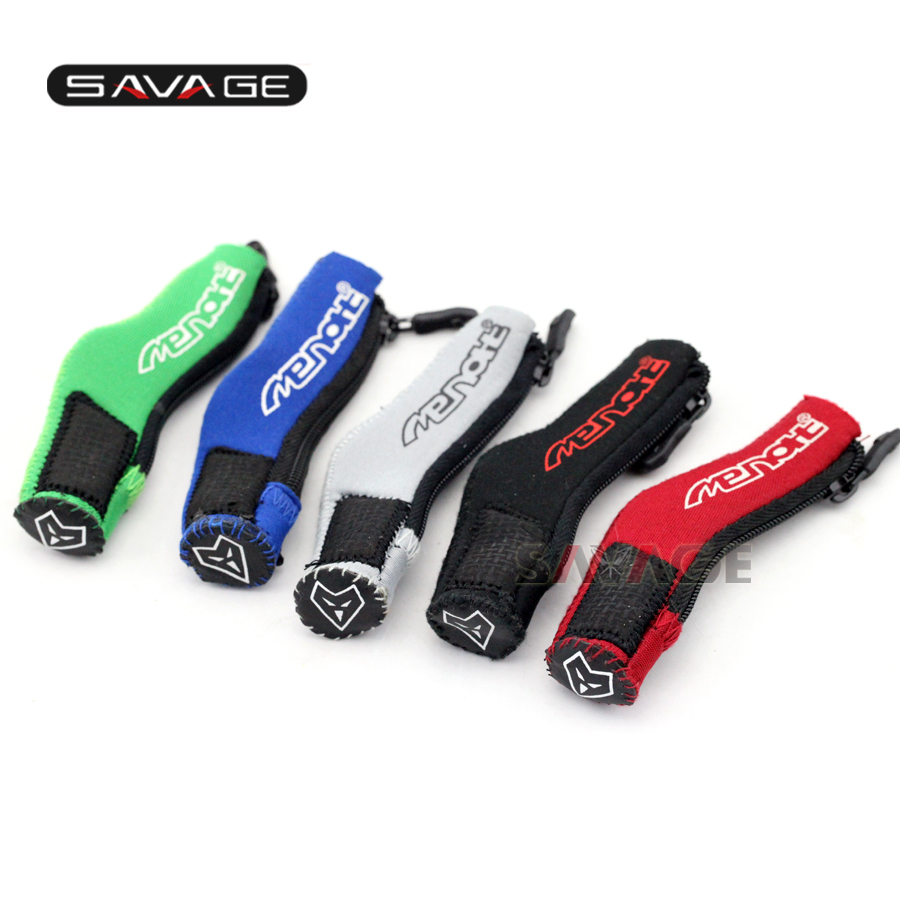 For KAWASAKI EX250R EX500R NINJA 250/300/400/500/650/1000 Motorcycle Pedal Gear Shift Cloth Sock Cover Boot Shoe Protector