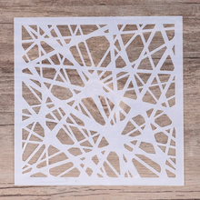 13 cm DIY Craft Layering Geometric Stencil For Painting Scrapbooking Stamping  Album Decorative Embossing Paper Cards