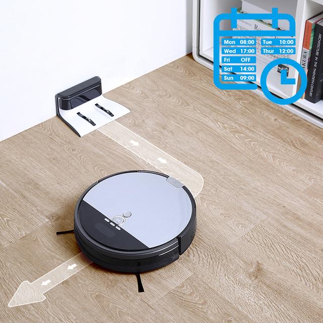 Wet Mopping Smart Robot Vacuum Cleaner