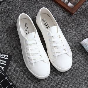 White Canvas Shoes Sports Tenn