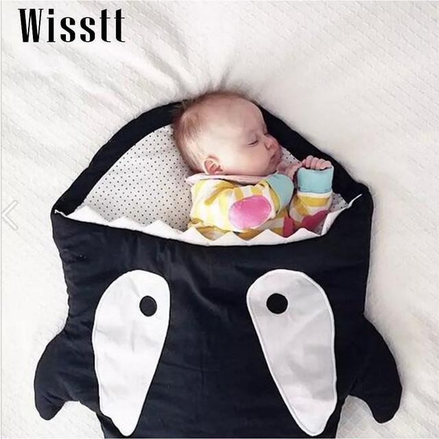 shark sleeping bag Newborns sleeping bag Winter Strollers Bed Swaddle Blanket Wrap cute Bedding baby sleeping bag BaBy