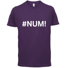 #Num - Mens T-Shirt Error / Excel SpreadsheetPrint T Shirt Short Sleeve Hot Fashion Classic