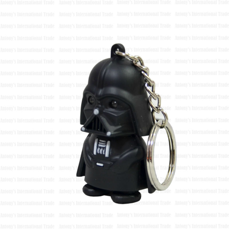 New Arrival LED <font><b>Star</b></font> <font><b>War</b></font> Lightsaber Grandmaster Darth Vader <font><b>Action</b></font> <font><b>Figure</b></font> Toys With Sound Keychain Wholesale christmas <font><b>Rogue</b></font> <font><b>One</b></font>