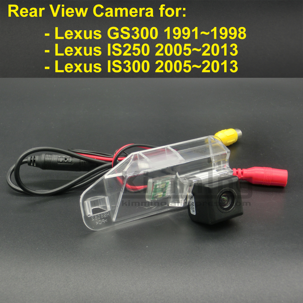 For Lexus Sc 430 Sc430 2005 2006 2007 2008 2009 2010: Car Rear View Camera For Lexus GS300 IS250 IS300 2006 2007