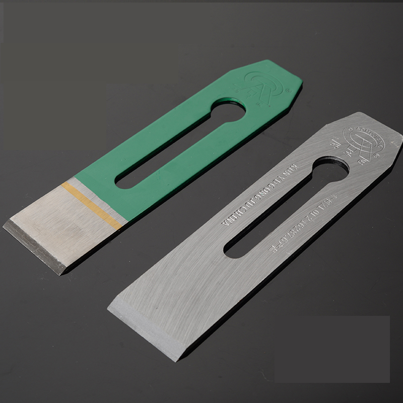 Hand Planer Blade 184x51x2.51mm HSS Planer Cutter 38 44 51mm Woodworking Planer Saw Blades 184*51*3.2mm + Planing Cover