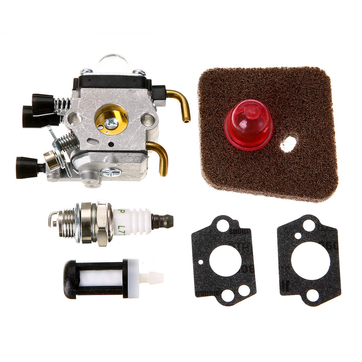 New Carburetor Carb Air Fuel Filter Replacement For FS38 FS45 FS46 FS55 HS45 FC55 KM55 FS85 Mayitr