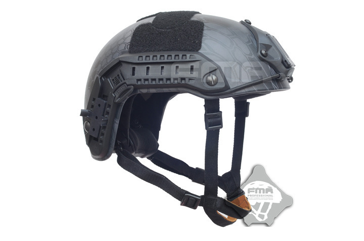 2018 FMA New Product aramid Airsoft Tactical Helmet Pattern Black Python Series Maritime Fund Helmet Series Be Listed TB874