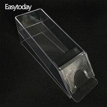 Easytoday 1Pcs Poker Dealer Accessories Acrylic Transparent Club Card Dispenser 6 Vice - Capacity