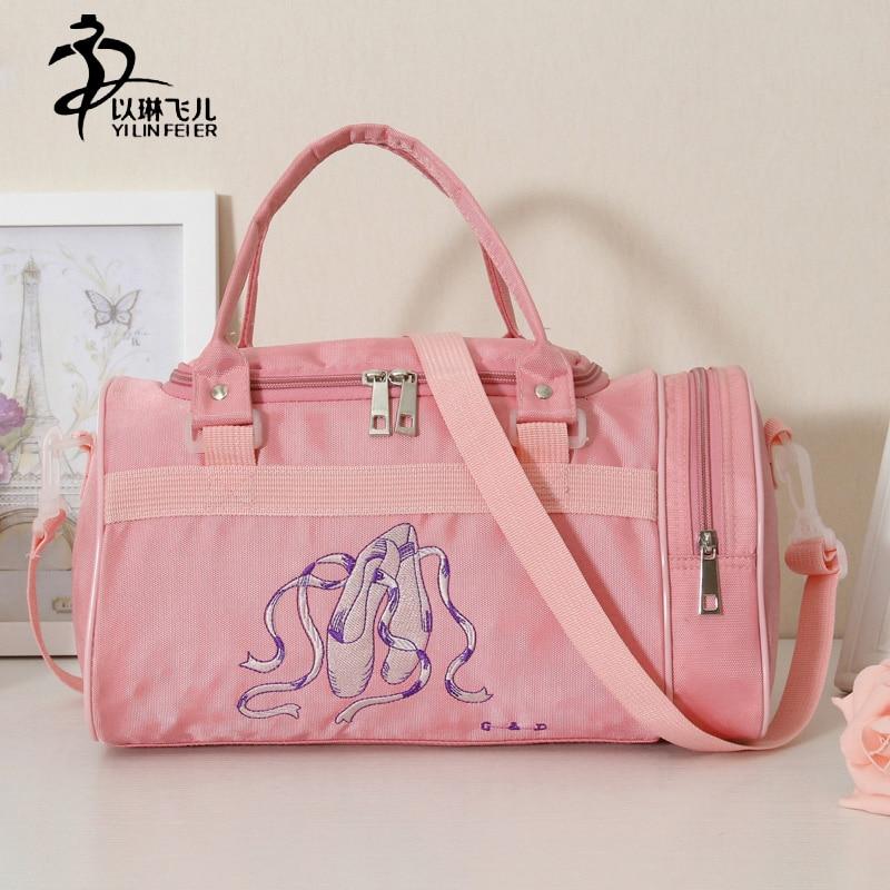 1pc-pink-girl-kids-dance-shoulder-tote-duffle-zippered-embroideed-font-b-ballet-b-font-bag